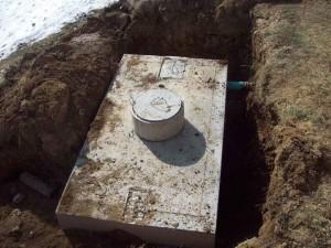 Concrete Tank Set
