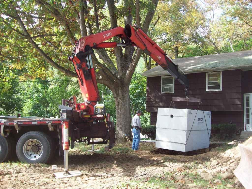 Concrete Septic Tank Cortlandt Manor Precision Excavating