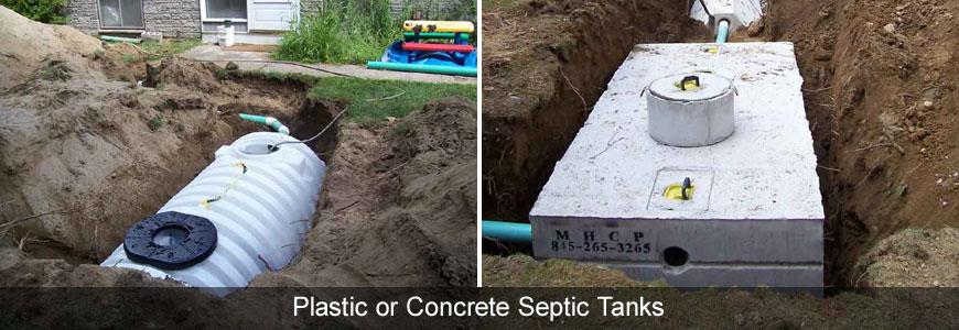 Concrete and Plastic Septic Tanks Compared